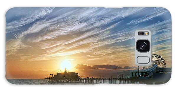 Santa Monica Galaxy S8 Case - Santa Monica Pier by Eddie Yerkish