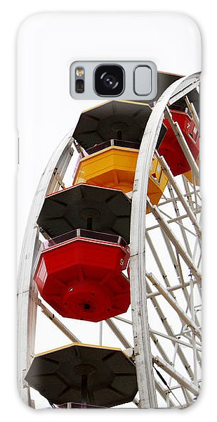 Santa Monica Galaxy S8 Case - Santa Monica Pier Ferris Wheel- By Linda Woods by Linda Woods