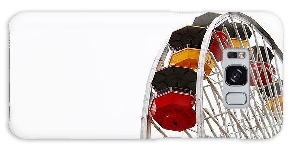 Los Angeles Galaxy Case - Santa Monica Pier Ferris Wheel- By Linda Woods by Linda Woods