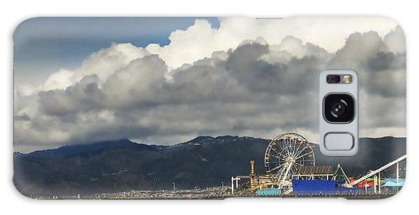 Santa Monica Pier Pan Galaxy Case by Joe  Palermo