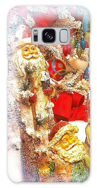 Santa Scene 1 Galaxy Case