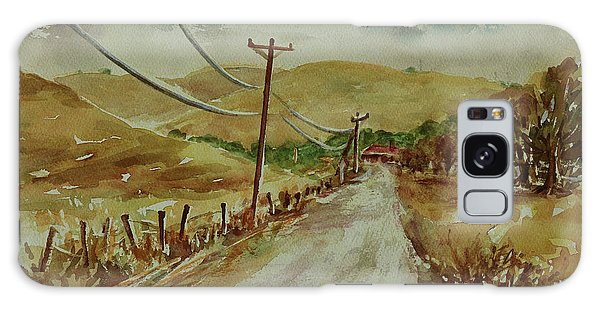 Galaxy Case featuring the painting Santa Teresa County Park California Landscape 1 by Xueling Zou
