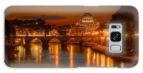 Sant'angelo Bridge Galaxy Case
