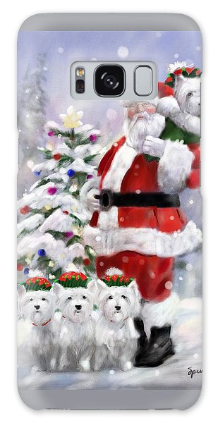 Elf Galaxy Case - Santa's Helpers by Mary Sparrow