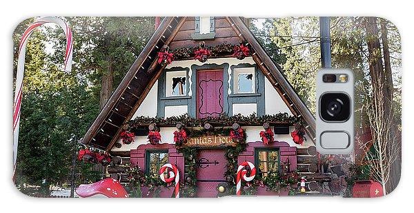 Santa's House Galaxy Case by Eddie Yerkish