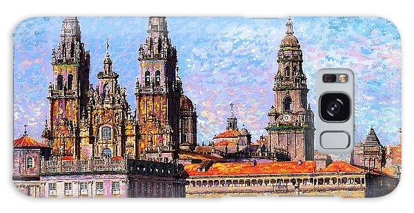 Santiago De Compostela, Cathedral, Spain Galaxy Case by Jane Small