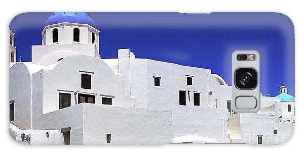 Santorini Greece Architectual Line 6 Galaxy Case by Bob Christopher