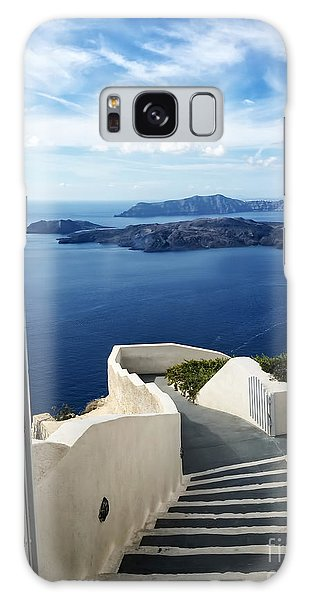 Place Galaxy Case - Santorini by HD Connelly