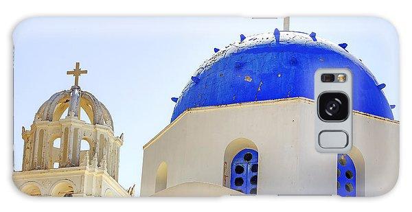 Religious Galaxy Case - Santorini by Joana Kruse