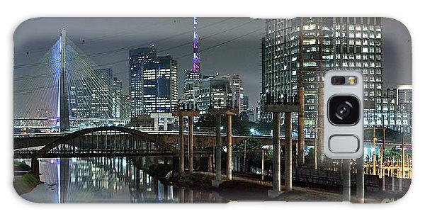 Sao Paulo Bridges - 3 Generations Together Galaxy Case