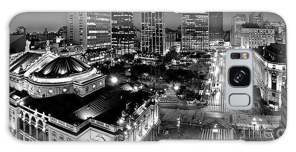 Sao Paulo Downtown - Viaduto Do Cha And Around Galaxy Case