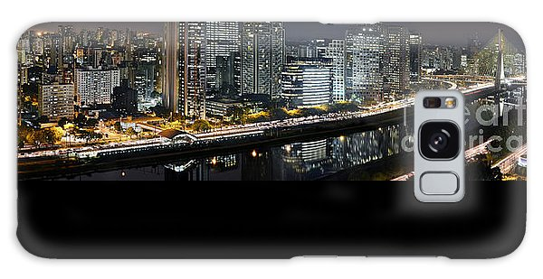 Sao Paulo Iconic Skyline - Cable-stayed Bridge  Galaxy Case