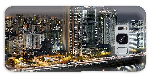 Sao Paulo Iconic Skyline - Cable-stayed Bridge  Galaxy Case
