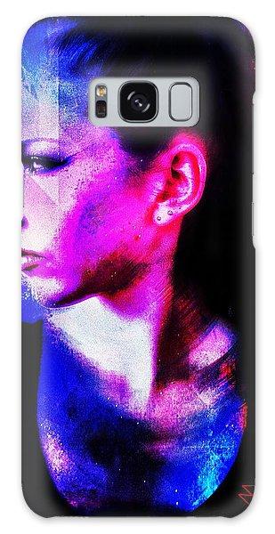 Sarah 2 Galaxy Case by Mark Baranowski