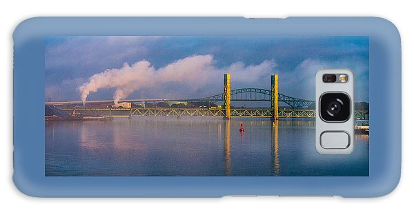 Sarah Long Bridge At Dawn Galaxy Case