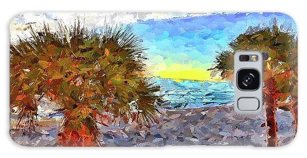 Sarasota Beach Florida Galaxy Case