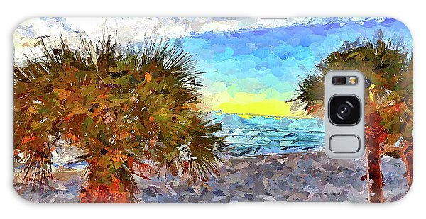 Galaxy Case featuring the photograph Sarasota Beach Florida by Joan Reese