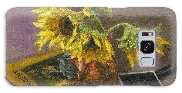 Sargent And Sunflowers Galaxy Case