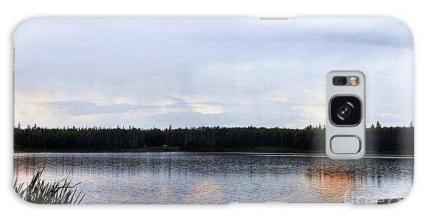 Saskatoon Lake Alberta Galaxy Case by Elaine Manley