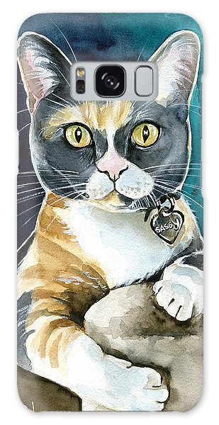 Calico Cat Galaxy Case - Sassy - Calico Cat Painting by Dora Hathazi Mendes