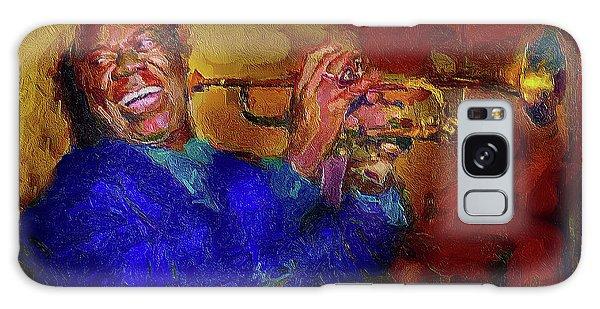 Satchmo Galaxy Case by Ted Azriel