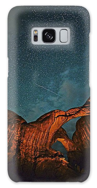 Satellites Crossing In The Night Galaxy Case