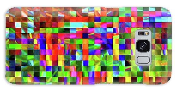 Satin Tiles Galaxy Case