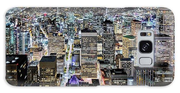 Seattle Lights Galaxy Case