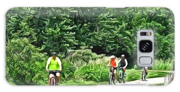 Saturday Bike Ride Galaxy Case