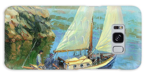 Galaxy Case featuring the painting Saturday by Steve Henderson