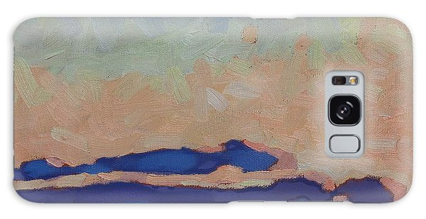 Saturday Stratocumulus Sunset Galaxy Case