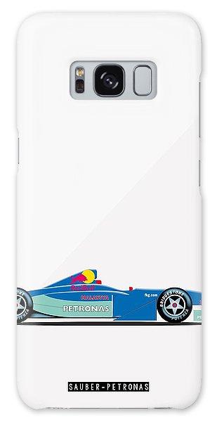 Sauber Petronas C20 F1 Poster Galaxy Case