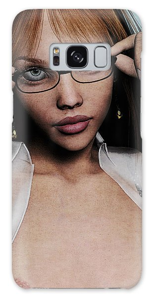 Saucy Secretary Galaxy Case