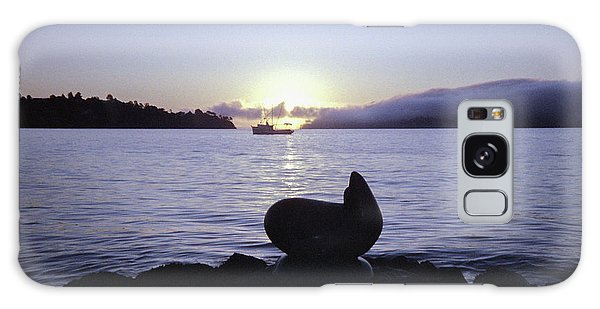 Galaxy Case featuring the photograph Sausalito Morning by Frank DiMarco
