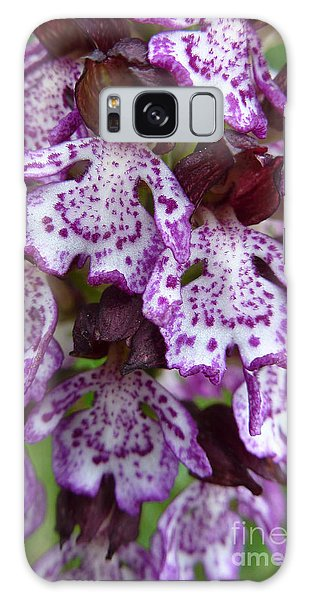 Savage Orchid 2 Galaxy Case by Jean Bernard Roussilhe