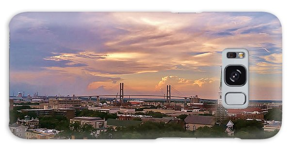 Savannah At Sunset Galaxy Case by Marilyn Carlyle Greiner
