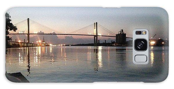 Savannah Bridge Evening  Galaxy Case