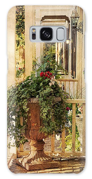 Brick House Galaxy Case - Savannah Porch by Kim Hojnacki