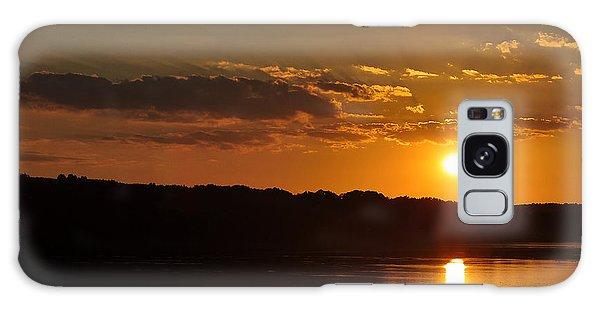 Savannah River Sunset Galaxy Case