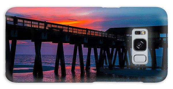 Savannah Sunrise Galaxy Case by John Roberts
