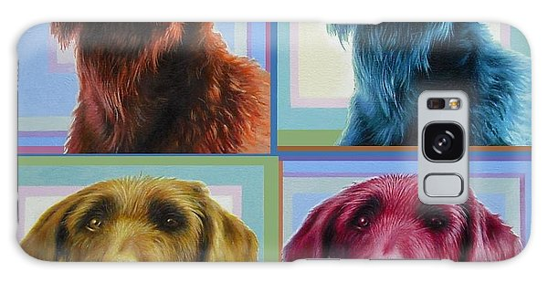 Savannah The Labradoodle Galaxy Case