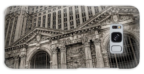 Save The Depot - Michigan Central Station Corktown - Detroit Michigan Galaxy Case