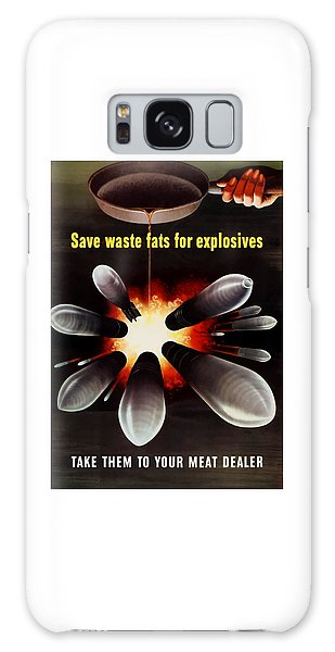 Political Galaxy Case - Save Waste Fats For Explosives by War Is Hell Store