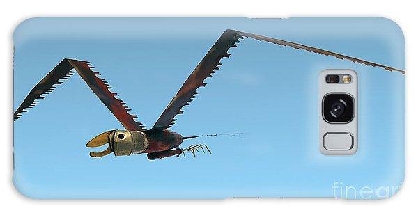 Saw Bird -raptor Galaxy Case