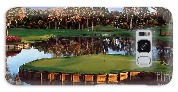 Sawgrass 17th Hole Hol Galaxy Case by Tim Gilliland