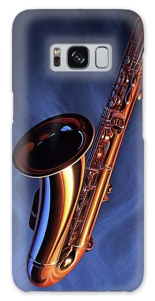 Saxophone Galaxy S8 Case - Sax Appeal by Jerry LoFaro
