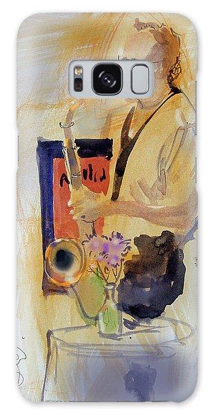 Sax Man Galaxy Case by Gertrude Palmer