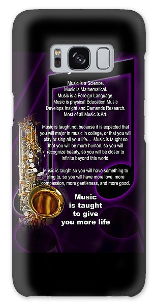 Saxophone Photographs Or Pictures For T-shirts Why Music 4819.02 Galaxy Case