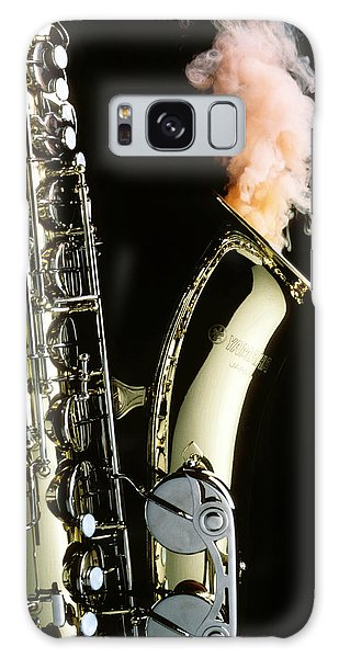 Saxophone Galaxy S8 Case - Saxophone With Smoke by Garry Gay