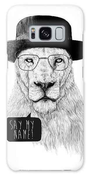 Lion Galaxy Case - Say My Name by Balazs Solti